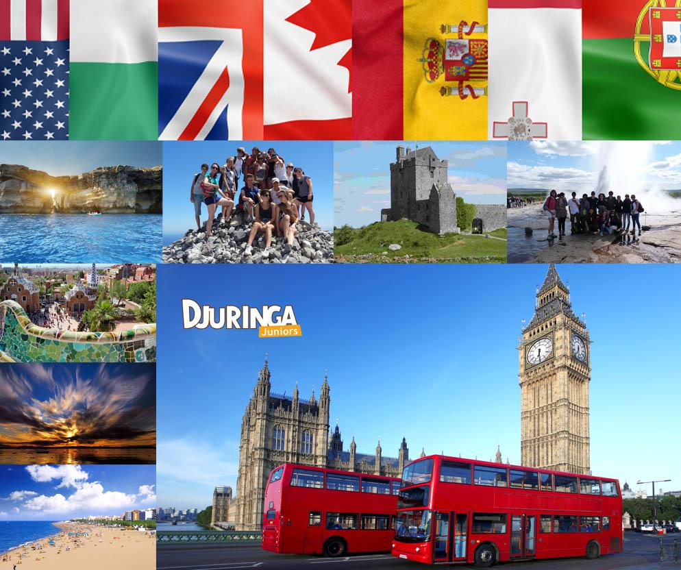 colonies de vacances et séjours étranger